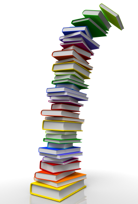 Books Stack Tower